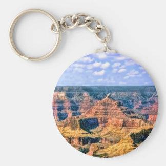 Grand Canyonnationalpark Arizona Rund Nyckelring