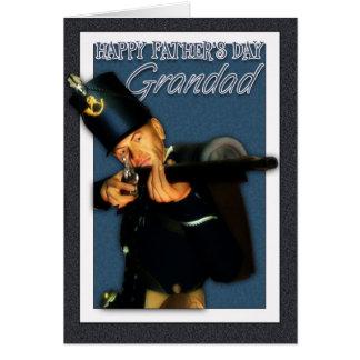 Grandad - fars dagkort - Hussarfotsoldat Hälsningskort