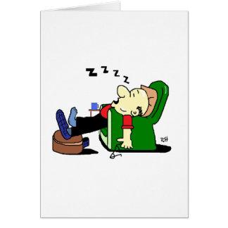 GRANDAD SLEEPS.tif Hälsningskort