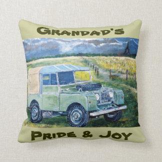 Grandads pride & glädje dämpar kudde
