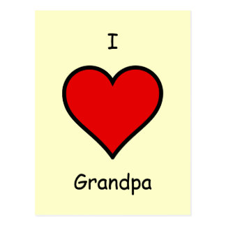 Grandpa_Postcard2 Vykort