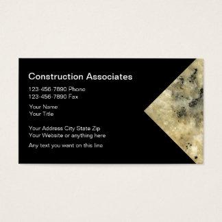 Granitkonstruktionsvisitkortar Visitkort