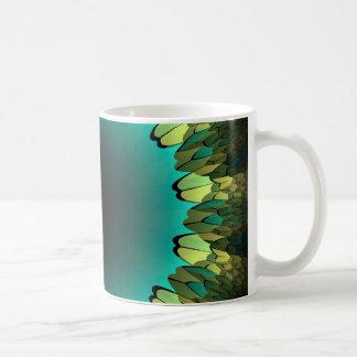 Gräns för blommaPetalFractal Kaffemugg
