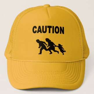 Gränsen undertecknar hatten truckerkeps