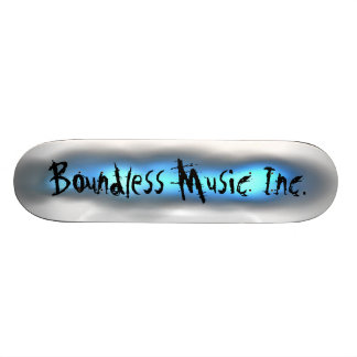 Gränslös Musik Inc. Skateboarddesigner Mini Skateboard Bräda 18,7 Cm