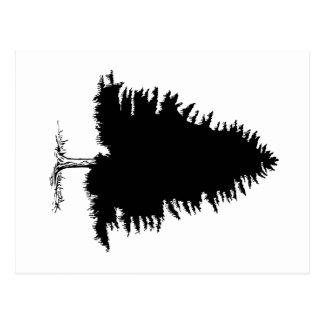 Granträd Vykort