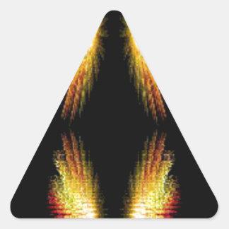 Graphica konstabstrakt triangelformat klistermärke