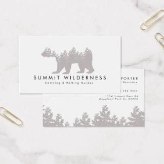 Gräs-träd Grizzlyvisitkort Visitkort