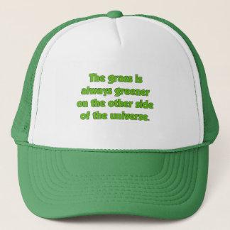 Gräset är alltid mer grön på andra sidan ..... truckerkeps