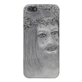 Gråta Jesus iPhone 5 Fodraler