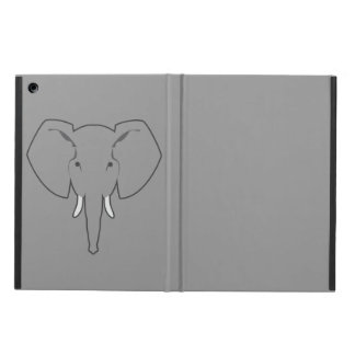 grått ipadfodral för elefant iPad air skydd