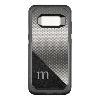 Grått Monogrammed Otterbox Samsung S8 fodral