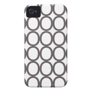 Grått- och vitstänk av o iPhone 4 Case-Mate cases