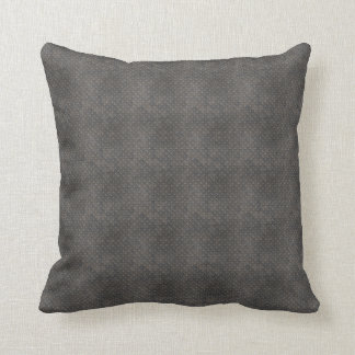 Grått texturerad industriell metall kudde