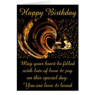Grattis på födelsedagen #1_Card Hälsnings Kort