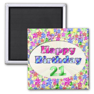 Grattis på födelsedagen 21