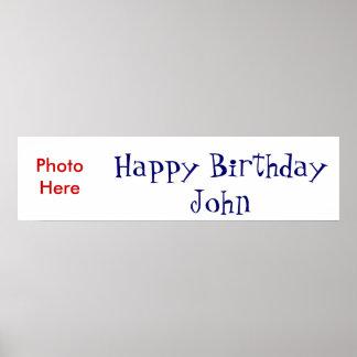 Grattis på födelsedagen affischer