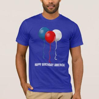 Grattis på födelsedagen Amerika (ballonger) T Shirts