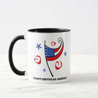 Grattis på födelsedagen Amerika (stjärnor &