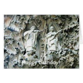Grattis på födelsedagen! Arkitekturmusik kopplar Hälsningskort