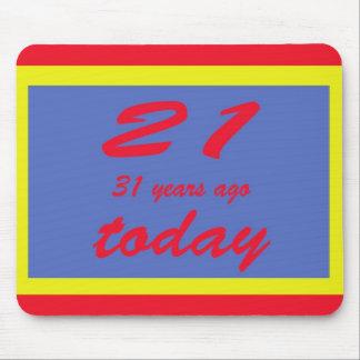 Grattis på födelsedagen femtio två 52nd musmatta