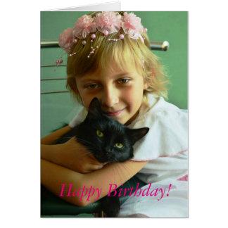 Grattis på födelsedagen! hälsningskort
