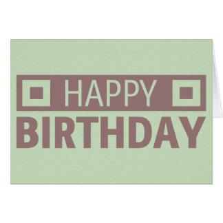 Grattis på födelsedagen hälsningskort