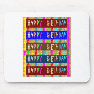 Grattis på födelsedagen HappyBirthday: Musmatta