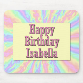 Grattis på födelsedagen Isabella Musmatta