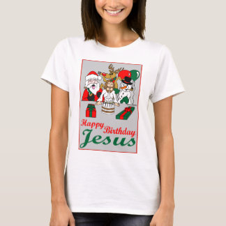 Grattis på födelsedagen Jesus T-shirt