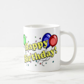 Grattis på födelsedagen kaffemugg