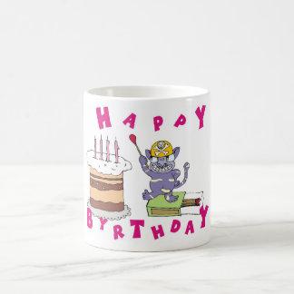 Grattis på födelsedagen! kaffemugg