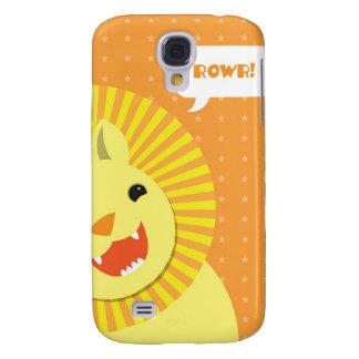 Grattis på födelsedagen lejona Rowr Galaxy S4 Fodral