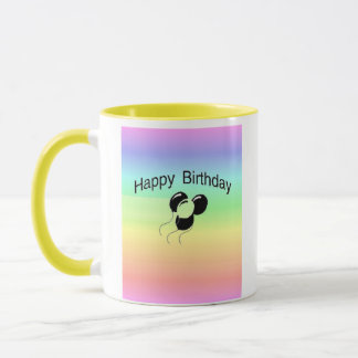 Grattis på födelsedagen mugg