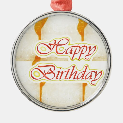 Grattis på födelsedagen skrivar: Ren kristall för  Julgranskula