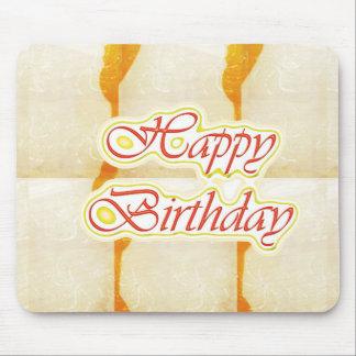 Grattis på födelsedagen skrivar: Ren kristall för Musmatta