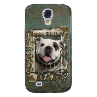 Grattis på födelsedagen - sten tafsar - bulldogg - galaxy s4 fodral