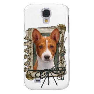 Grattis på födelsedagen - stentassar - Basenji Galaxy S4 Fodral