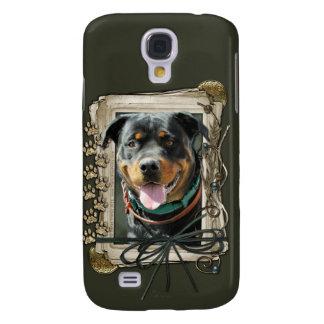 Grattis på födelsedagen - stentassar - Rottweiler Galaxy S4 Fodral