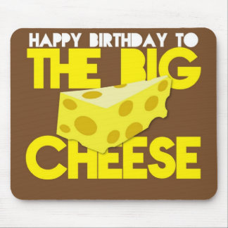 Grattis på födelsedagen till den STORA OSTEN Musmatta