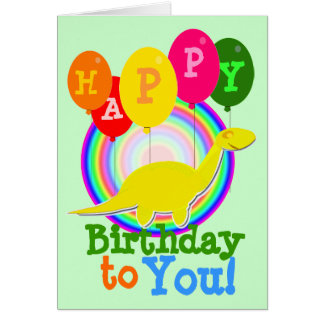 Grattis på födelsedagen till dig hälsningskort