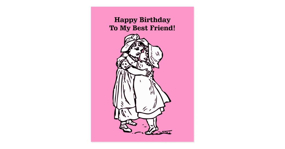 grattis på födelsedagen bästa vän