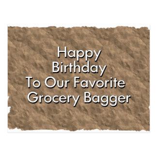 Grattis på födelsedagen till vårt favorit- vykort