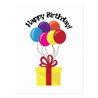 Grattis på födelsedagen! vykort