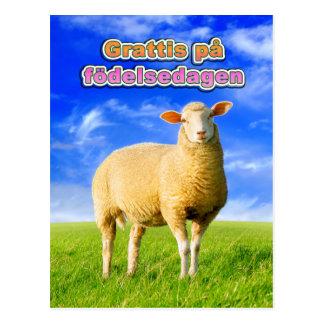 Grattis på födelsedagen vykort