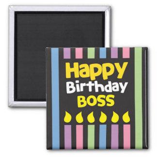 Grattis på födelsedagenCHEF! Magnet