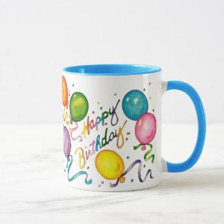 Grattis på födelsedagenkaffemugg mugg