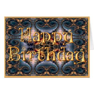 Grattis på födelsedagenkort (M213) Hälsningskort
