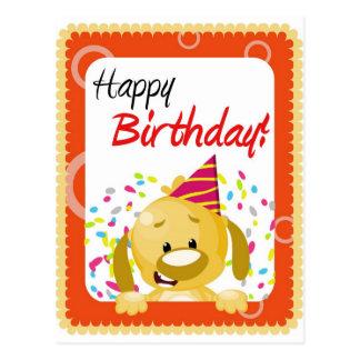 Grattis på födelsedagenkort vykort