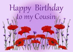 grattis på födelsedagen kusin Grattis På Födelsedagenkusin Presenter | Zazzle.se grattis på födelsedagen kusin
